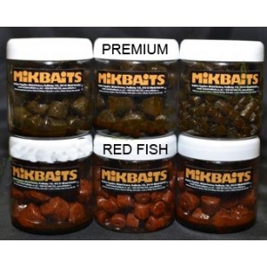 Pelety MIKBAITS Red Fish v dipe