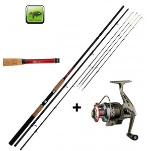 SET = prút Giants Fishing Classic Feeder TR + navijak