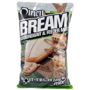 Krmivo BAIT-TECH Omen Bream Groundbait & Feeder Mix