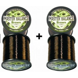 1 + 1 = Vlasec Giants Fishing Carp Master Balance Brown