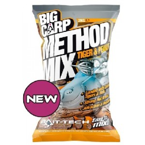 Krmivo Big Carp Method Mix Tiger & Peanut