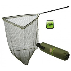SET = Podberák Giants Fishing Carp Plus Landing net + plavák Net Float