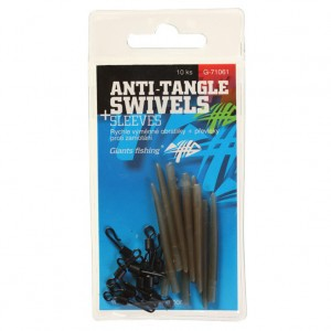 Montáž GIANTS FISHING Quick Swap Swivel With Anti Tangle Sleeves