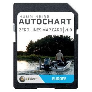 SD karta HUMMINBIRD Autochart Zero Line Card