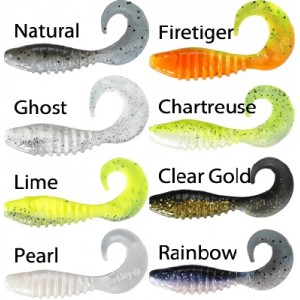 Twister BERKLEY Flex Grub Shad 5cm