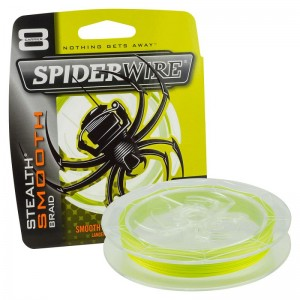 Šnúra SPIDERWIRE Stealth Smooth 8 Yellow