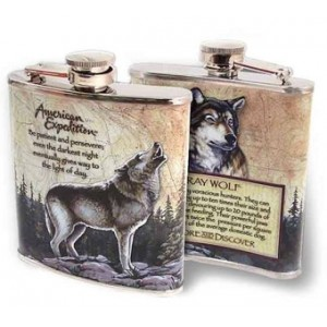 Ploskačka American Expedition Gray Wolf