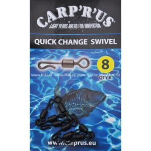 Obratlíky CARP ´R´ US Quick Change Swivel