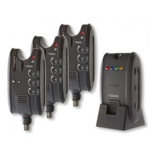 Set 3 signalizátorov CORMORAN ProCarp F-8000 s príposluchom