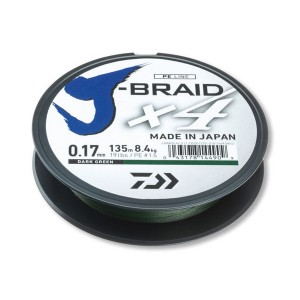 Spletaná šnúra DAIWA J-Braid X4