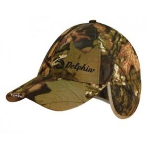 Zimná šiltovka DELPHIN s LED svietením