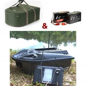 SET = zavážacia loďka MIVARDI Carp Scout 3 + obal + náhradné batérie