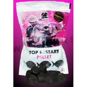 Top ReStart Pellet Black Protein 28mm, 1kg