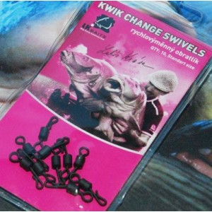 Obratlík LK Baits Kwik Change swivels