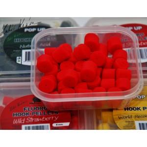 Pelety LK Baits Fluoro Wild Strawberry 12mm