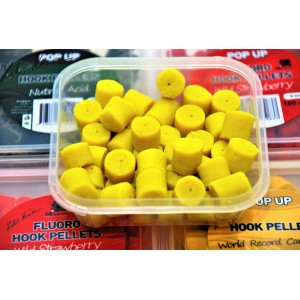 Pelety LK Baits Fluoro Pineapple / N-Butyric 12mm