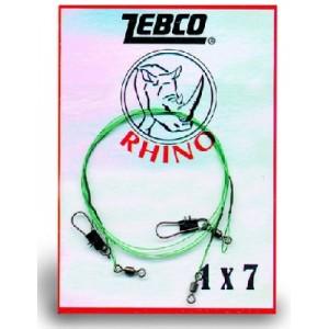 Oceľové lanko ZEBCO RHINO 1x7