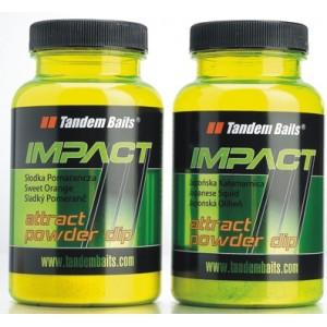 Práškový dip Tandem Baits Impact Attract Powder