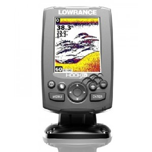 Sonar LOWRANCE Hook-3x Sonar 83/200 EMEA - Language Pack 455/800kHz