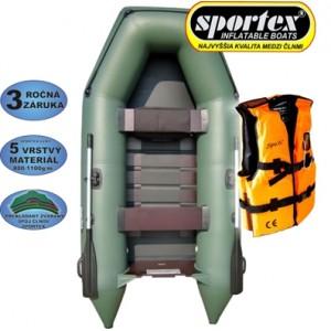 SET = SPORTEX Shelf + záchranná vesta