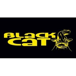 Rybárska nálepka Black Cat