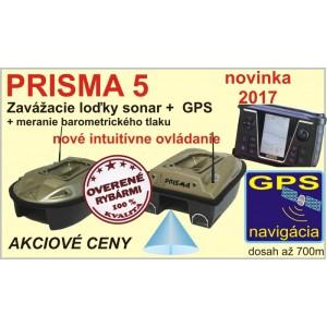 Zavážacia loďka PRISMA 5 + sonar + GPS