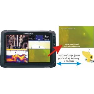 Podvodná kamera k dotykovým sonarom HDS GEN2 9 a 12