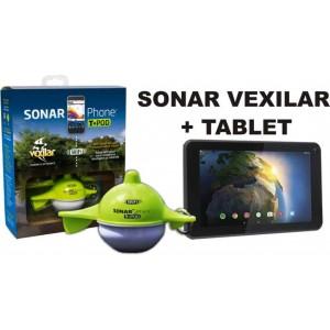 SET = nahadzovací sonar Vexilar + tablet