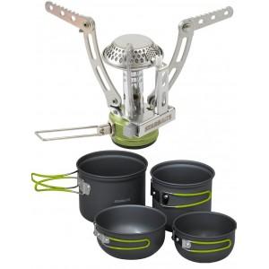 SET = varič STARBAITS Freeway + set teflonových hrncov Freeway Cook Set