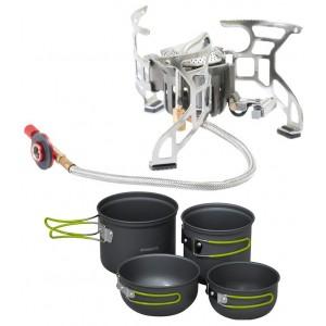 SET - varič STARBAITS Deluxe + set teflonových hrncov Freeway Cook Set