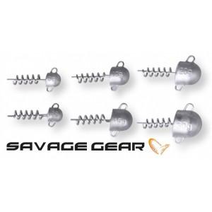 Jigové hlavičky SAVAGE Gear Cork Screw Heads