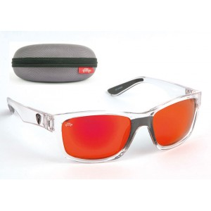 Okuliare FOX Rage Trans Frames/ Grey Lens Mirror Red Eyewear