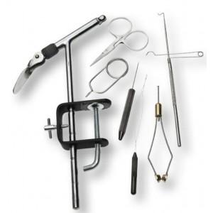 Set RON THOMSON Super a Vise + 6 Tools na viazanie mušiek