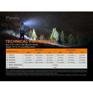 Obrázok 4 k Nabíjacia čelovka FENIX HM65R-T